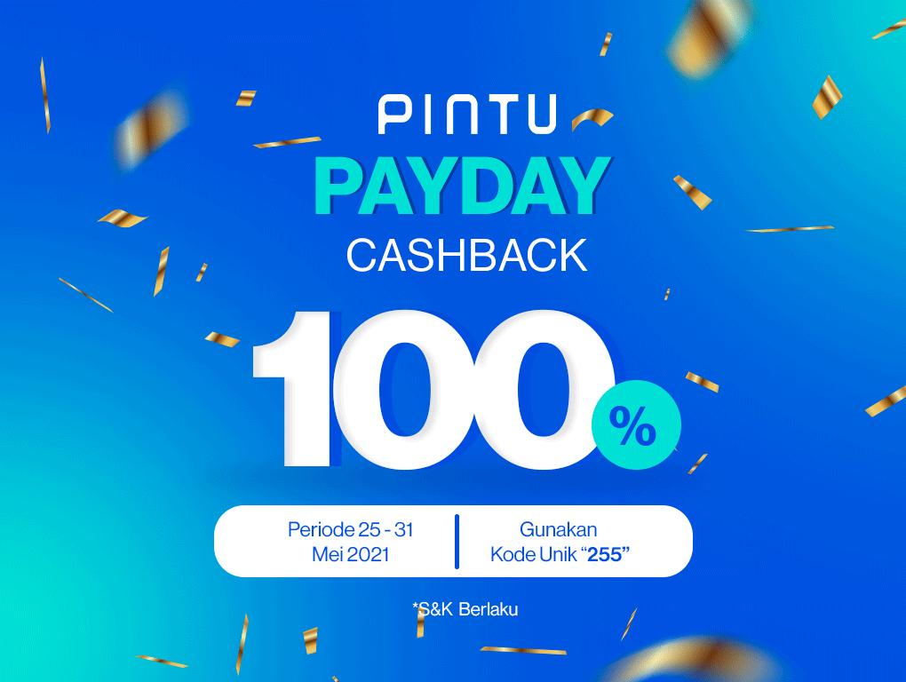 Gambar Payday Cashback, Investasi Dapat Cashback 100%!